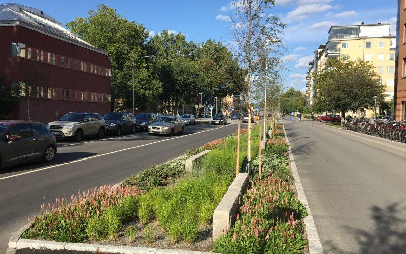 #bluegreengrey street Strandbogatan in Uppsala