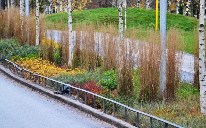 #bluegreengrey systems at Vårdsätravägen, Rosendal